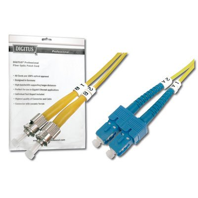 Latiguillo de Fibra Optica ST-SC 9/125 en 10 Metros