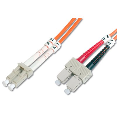 Latiguillo de Fibra Optica LC-SC 50/125 en 10 M