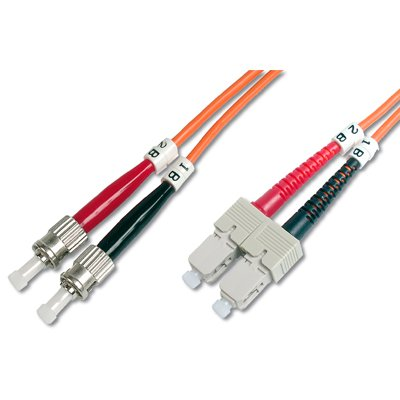 Latiguillo de Fibra Optica ST-SC 50/125 en 2 mt
