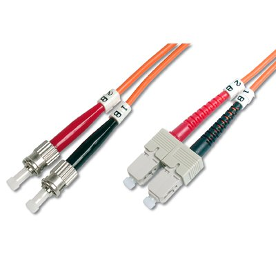 Latiguillo de Fibra Optica ST-SC 62,5/125 en 10 M