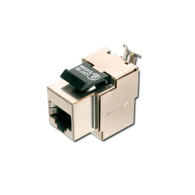 Conectores de red local conectores rj45 hembra import cable for Conector de red hembra