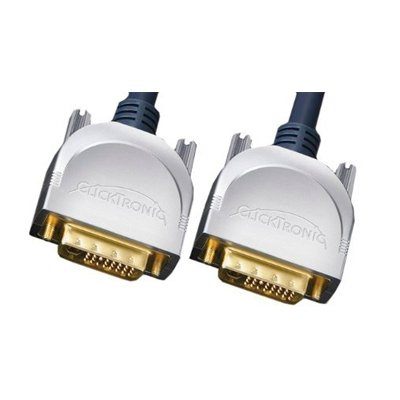 CLICKTRONIC. Cable 2xDVI-D (24+1) M DUAL LINK de 3 Mts.