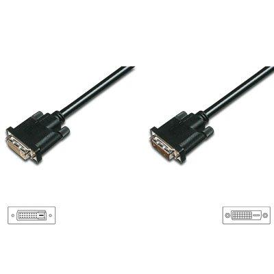 Cable DVI 24+1M - DVI 24+1H DUAL LINK 3 Mts.