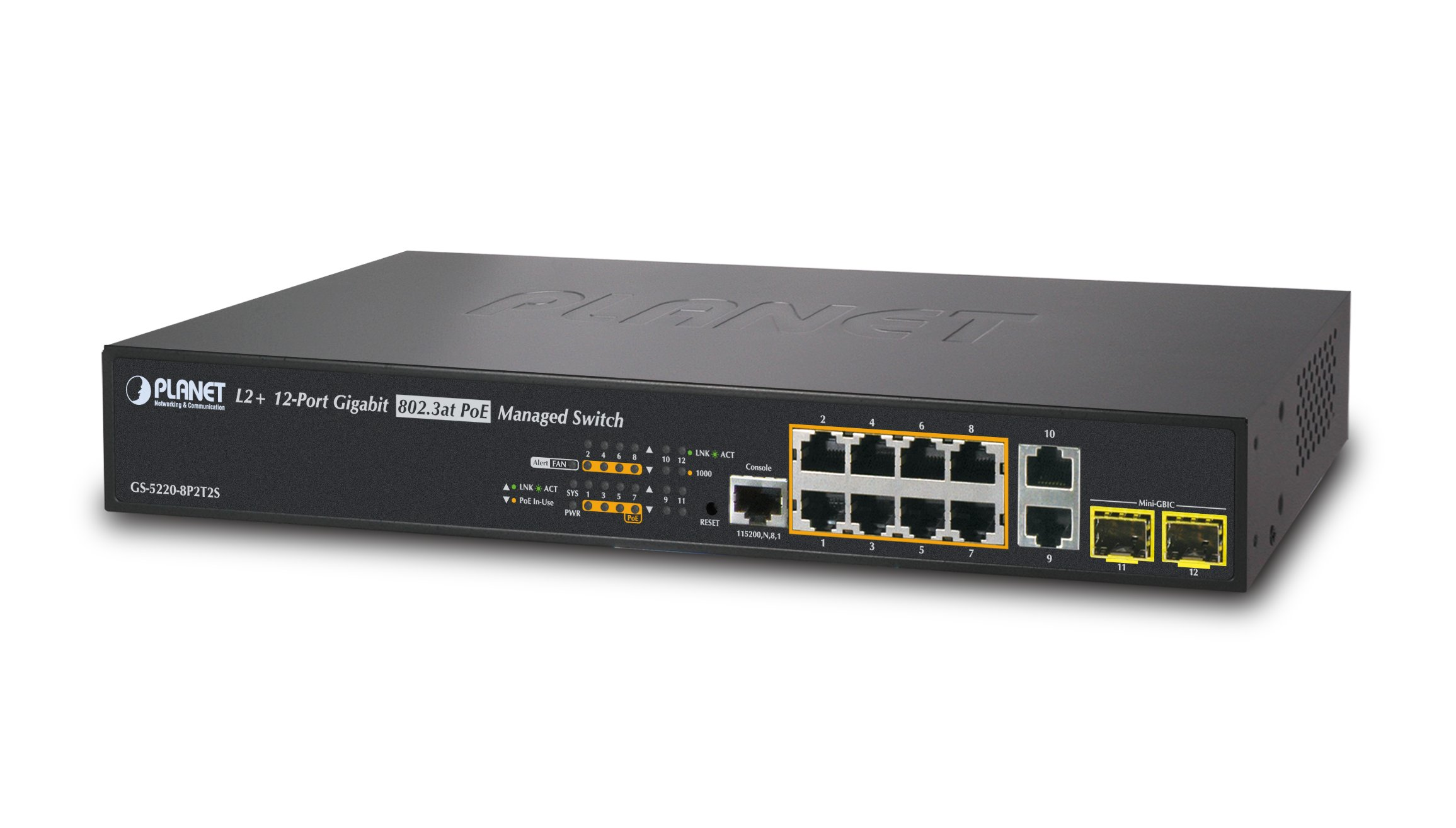 Planet 8-Port Managed Switch