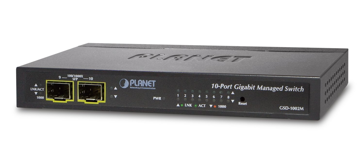 Planet 8-Port Managed Desktop Switch
