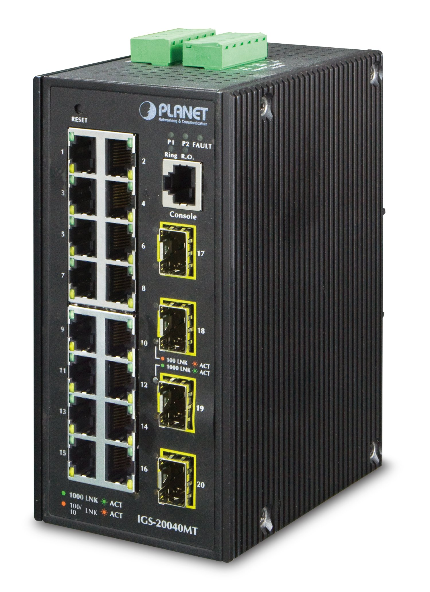 Planet 16-Port  Managed Switch