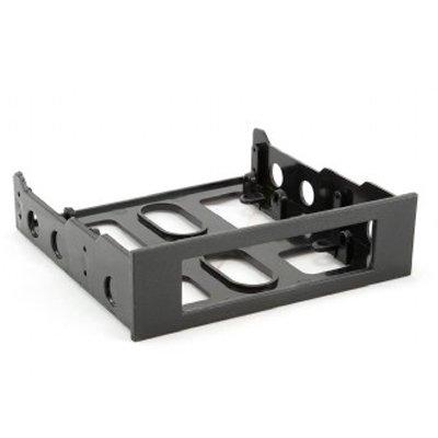 """Adaptador de formato de 3.5"""" a 5,25"""" con frontal abierto de 3,5"""" Color Negro"""