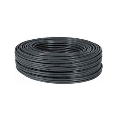 Cable FTP CAT-6 FLEXIBLE, Rollo de 100 Mts. Color Negro. COBRE