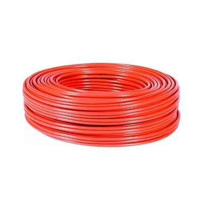 Cable FTP CAT-6 FLEXIBLE, Rollo de 100 Mts. Color Rojo. COBRE