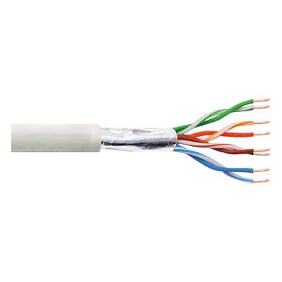 Cable FTP Flexible Cat-5e CCA Rollo de 100 Mts.