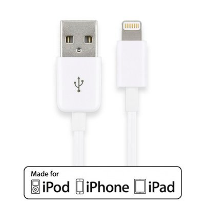 Cabstone Cable USB Carga-Sincronismo. Apple Lightning de 1 Mt.