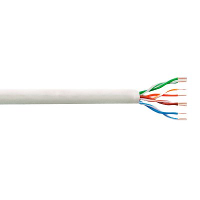 Cable UTP CAT-5e Flexible CCA de 305 Mts.