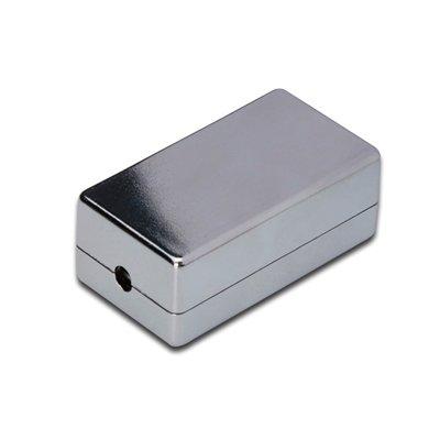 Caja de conexi n y empalme cat 6 apantallada rosetas compactas import cable - Caja para ocultar cables ...