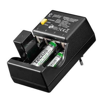 Cargador de pilas universal aa aaa 9v cargadores y - Cargador para pilas ...