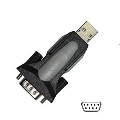 Convertidor USB 2.0 a puerto Serie DB-9 Macho .