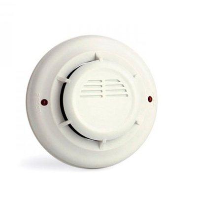 Detector fotoelectrico de humo para techo
