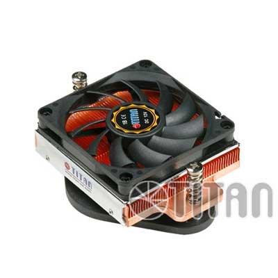 Disipador Socket AMD K8 base de Cobre Perfil Bajo