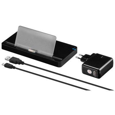 Dockingstation USB 2.0 para IPAD. Color negro