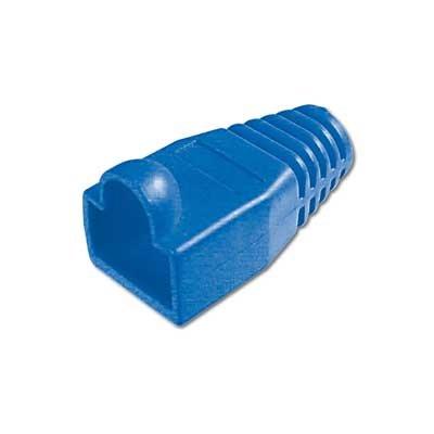 Protectores de color Azul para conector Macho RJ45.
