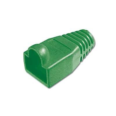Protectores de color Verde para conector Macho RJ45.