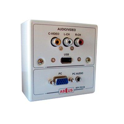 Roseta Multimedia VGA - Audio/Video RCA + USB