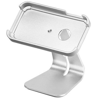 Soporte de sobremesa de aluminio para iPhone 4 /4S.