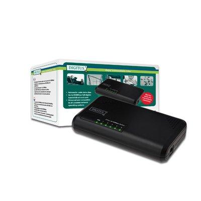 Switch Fast Ethernet 10/100 de 5 Puertos de Sobremesa