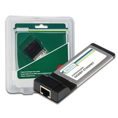 Tajeta PCMCIA Express Gigabit 10/100/1000