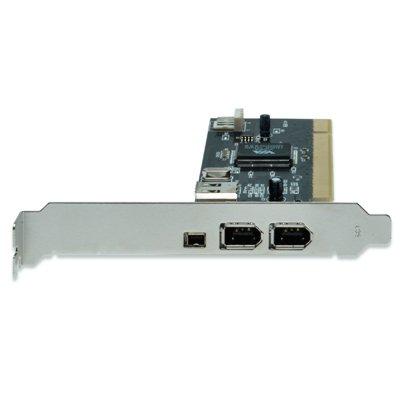 Tarjeta FireWire IEEE 1394 3 Puertos Ext. + 1 Inter.