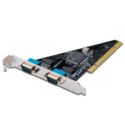 Tarjeta PCI 2 puertos. Serie UART 16c550.