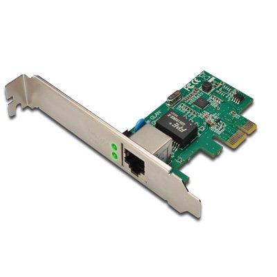 Tarjeta PCI- Express  de red Ethernet Gigabit 10100/1000