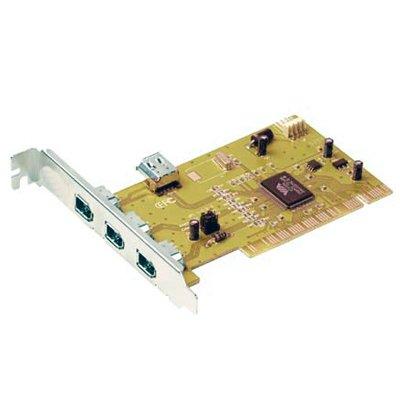 Tarjeta PCI Firewire IEEE 1394A 3 ptos. Externos + 1 interno .