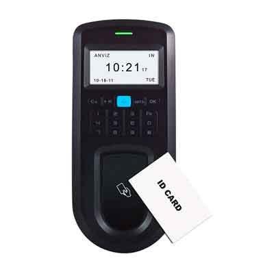 Teclado control de acceso con lector de tarjetas
