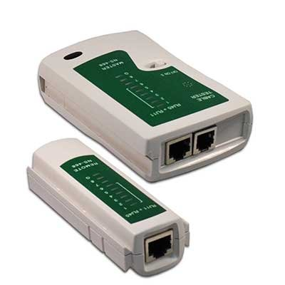 Tester de RED para conexiones RJ11, RJ12, RJ45