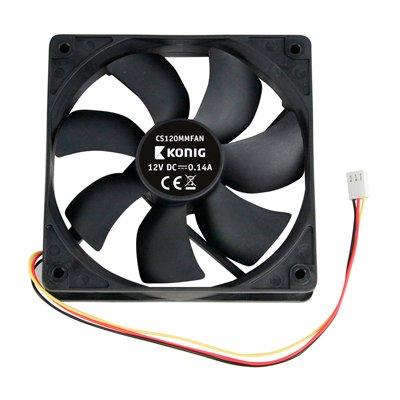Ventilador adicional 120x120x25mm. 12V