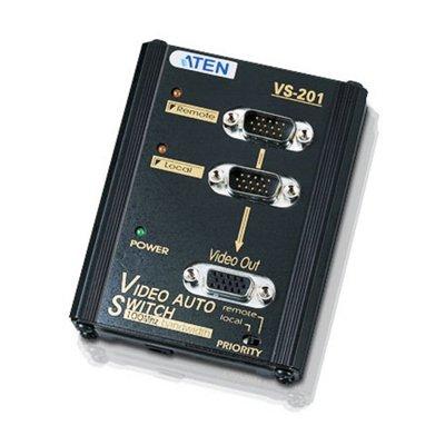 Video Selector Compacto VGA 2 PCS. 1 Monitor.