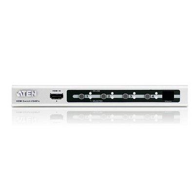 Video Selector HDMI de 4 puertos 1.3 certificado.