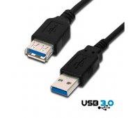 Cable prolongador USB 3.0 Tipo A Macho / Hembra de 3 Mts. de Cobre
