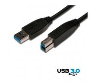 Cable USB 3.0 Tipo A/B de 3 Mts.