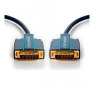 Clicktronic Cable 2 x DVI-D (24+1) M DUAL LINK de 7.5 Mts.