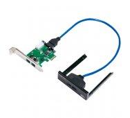 Tarjeta PCI Express 4 puertos. USB 3.0.